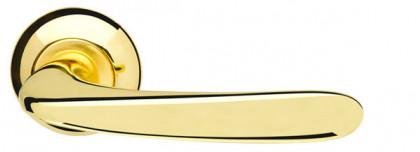 Ручка раздельная Armadillo (Армадилло) Pava LD42-1GP/SG-5 золото/матовое золото