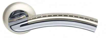 Ручка раздельная Armadillo (Армадилло) Libra LD26-1SN/CP-3 матовый никель/хром