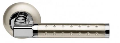 Ручка раздельная Armadillo (Армадилло) Eridan LD37-1SN/CP-3 матовый никель/хром