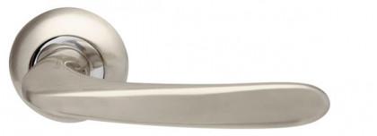 Ручка раздельная Armadillo (Армадилло) Pava LD42-1SN/CP-3 матовый никель/хром