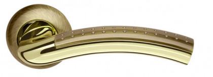 Ручка раздельная Armadillo (Армадилло) Libra LD26-1AB/GP-7 бронза/золото