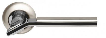 Ручка раздельная Armadillo (Армадилло) Cosmo LD147-1SN/CP-3 матовый никель/хром