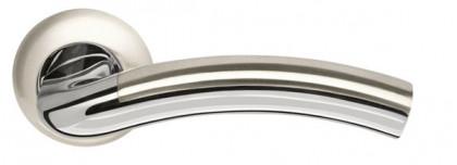 Ручка раздельная Armadillo (Армадилло) Libra LD27-1SN/CP-3 матовый никель/хром