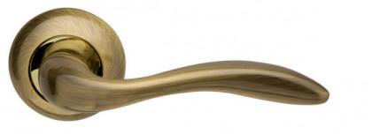Ручка раздельная Armadillo (Армадилло) Selena LD19-1AB/GP-7 бронза/золото