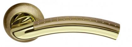 Ручка раздельная Armadillo (Армадилло) Libra LD27-1AB/GP-7 бронза/золото