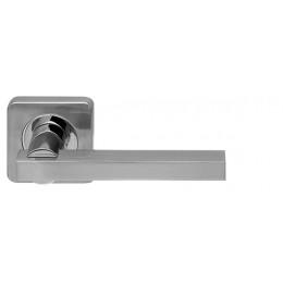 Ручка раздельная Armadillo (Армадилло) ORBIS SQ004-21SN/CP-3 мат никель/хром