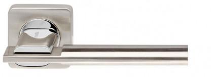 Ручка раздельная Armadillo (Армадилло) TRINITY SQ005-21SN/CP-3 матовый никель/хром