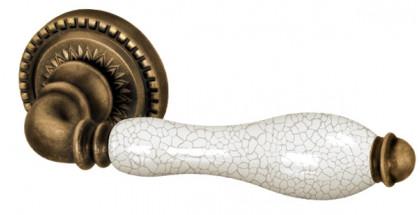 Ручка раздельная Armadillo (Армадилло) Silvia CL1 OB/CRP-213 Античная бронза/кракелюр