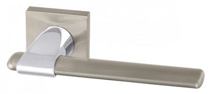Ручка раздельная Armadillo (Армадилло) AJAX USQ1 SN/CP-3 Мат никель/хром