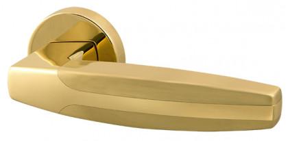 Ручка раздельная Armadillo (Армадилло) ARC URB2 GOLD-24/SGOLD-24 Золото 24К/мат золото 24К
