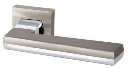 Ручка раздельная Armadillo (Армадилло) GROOVE USQ5 SN/СР-3 Мат никель/хром