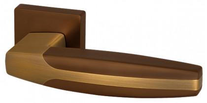 Ручка раздельная Armadillo (Армадилло) ARC USQ2 BB/SBB-17 Кор бронза/мат кор бронза
