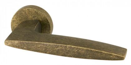 Ручка раздельная Armadillo (Армадилло) SQUID URB9 ОВ-13 Античная бронза
