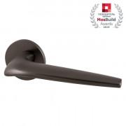Ручка раздельная Armadillo (Армадилло) TWIN URS BPVD-77 Вороненый никель