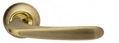 Ручка раздельная Armadillo (Армадилло) Pava LD42-1AB/GP-7 бронза/золото TECH