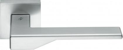 Дверная ручка на квадратном основании COLOMBO Dea FF21RSB-CM матовый хром