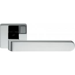 Дверная ручка на квадратном основании COLOMBO Fedra AC11RSB-CR полированный хром