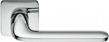 Дверная ручка на квадратном основании COLOMBO Roboquattro S ID51RSB-CR полированный хром