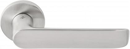 Дверная ручка на круглом основании COLOMBO Lund SE11RSB-CM матовый хром