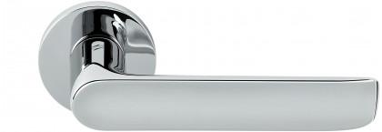 Дверная ручка на круглом основании COLOMBO Lund SE11RSB-CR полированный хром