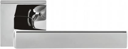 Дверная ручка на квадратном основании COLOMBO Robocinque S ID71RSB-CR полированный хром
