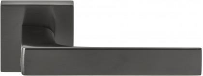 Дверная ручка на квадратном основании COLOMBO Robocinque S ID71RSB-GM матовый графит