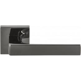 Дверная ручка на квадратном основании COLOMBO Robocinque S ID71RSB-GL графит