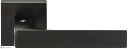 Дверная ручка на квадратном основании COLOMBO Robocinque S ID71RSB-NM черный