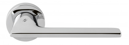 Дверная ручка на круглом основании COLOMBO Alato JP11RSB-CR полированный хром
