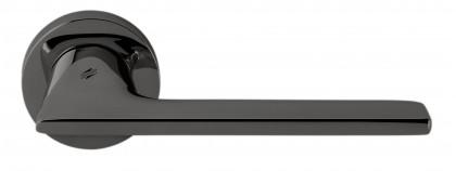 Дверная ручка на круглом основании COLOMBO Alato JP11RSB-GL графит