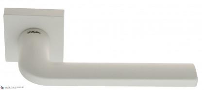 "Дверная ручка на квадратном основании Fratelli Cattini ""LINEA"" 8-BI белый"