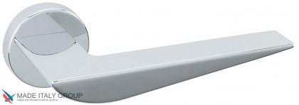 """Дверная ручка на круглом основании Fratelli Cattini """"VEGAS"""" 7FS-CR полированный хром"""