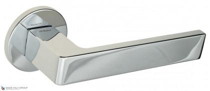 """Дверная ручка на круглом основании Fratelli Cattini """"BOOM"""" 7FS-CR полированный хром"""