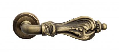 "Дверная ручка Venezia ""FLORENCE"" D1 матовая бронза"
