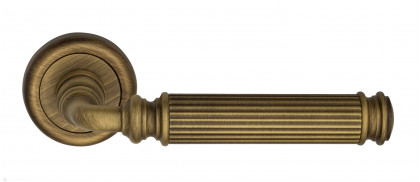 """Дверная ручка Venezia """"MOSCA"""" D1 матовая бронза"""