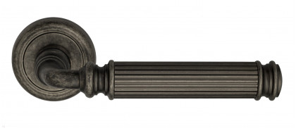 "Дверная ручка Venezia ""MOSCA"" D1 античное серебро"