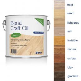 Bona Craft Oil 1K пробник, 9 цветов