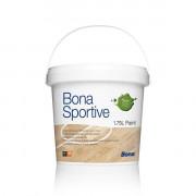 Bona Sportive Paint  специализированная однокомпонентная краска на основе полиуретановой дисперсии для нанесения линий.