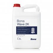 Bona Wave 2K двухкомпонентный водно-дисперсионный лак на основе полиуретана.