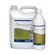 Bona Remover концентрированное средство для очистки лакированной поверхности паркета и паркетной доски от глубоких загрязнений.