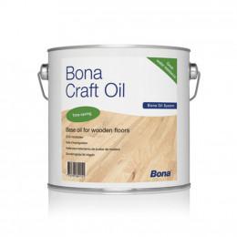 Bona Craft Oil уникальное соединение различных растительных масел, модифицированных для долговременной пропитки и защиты деревянных напольных покрытий.