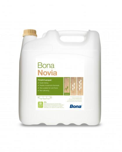 Bona Novia однокомпонентный водно-дисперсионный лак на основе комбинации полиуретана и акрила.