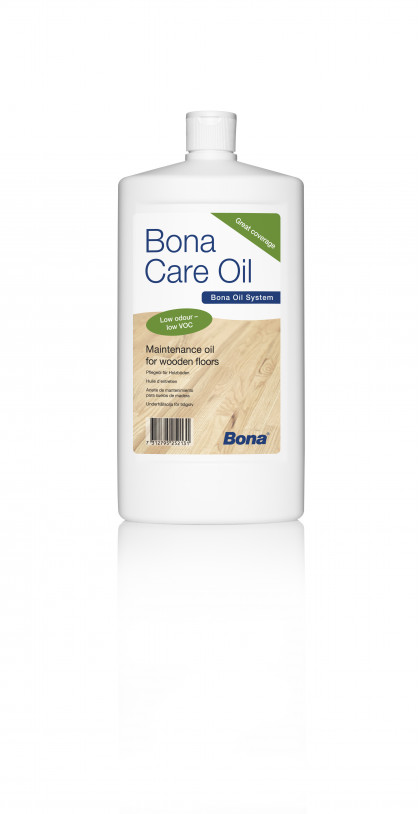 Bona Care Oil - средство для периодического ухода за деревянными напольными поверхностями.