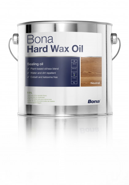 Bona Hard Wax Oil смесь модифицированных натуральных масел и воска для защитной обработки деревянных поверхностей.