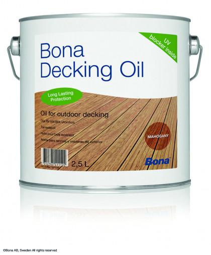 Bona Decking Oil концентрированная смесь на основе натуральных растительных масел.
