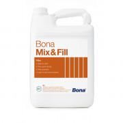 Bona Mix&Fill  связующее вещество на водной основе для смешивания с шлифо вальной мукой и получения шпатлёвки. Для шпаклевания щелей до 2 мм