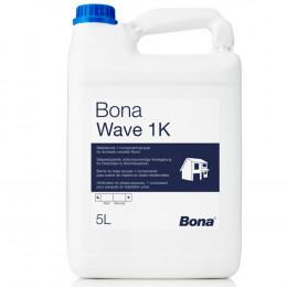 Bona Wave 1K однокомпонентный водно-дисперсионный лак на основе комбинации полиуретана и акрила.