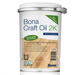 Bona Craft Oil 2К уникальное соединение различных растительных масел, модифицированных для долговременной пропитки и защиты деревянных напольных покрытий.