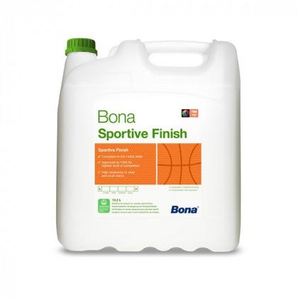 Bona Sportive Finish 2-х компонентный износостойкий лак на основе чистой полиуретановой дисперсии.