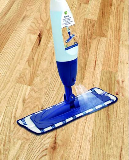 Bona Spray Mop швабра с распылителем.